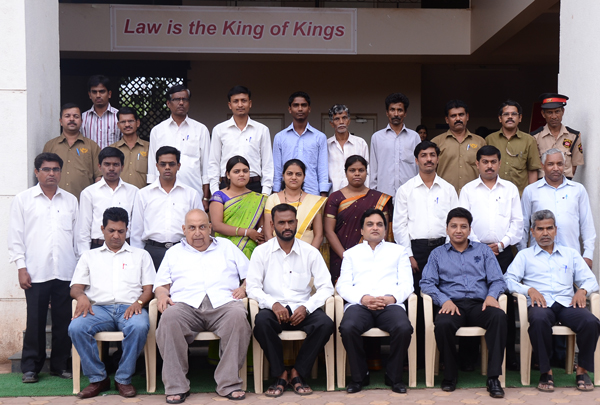 Best non teaching staff of New Law College
